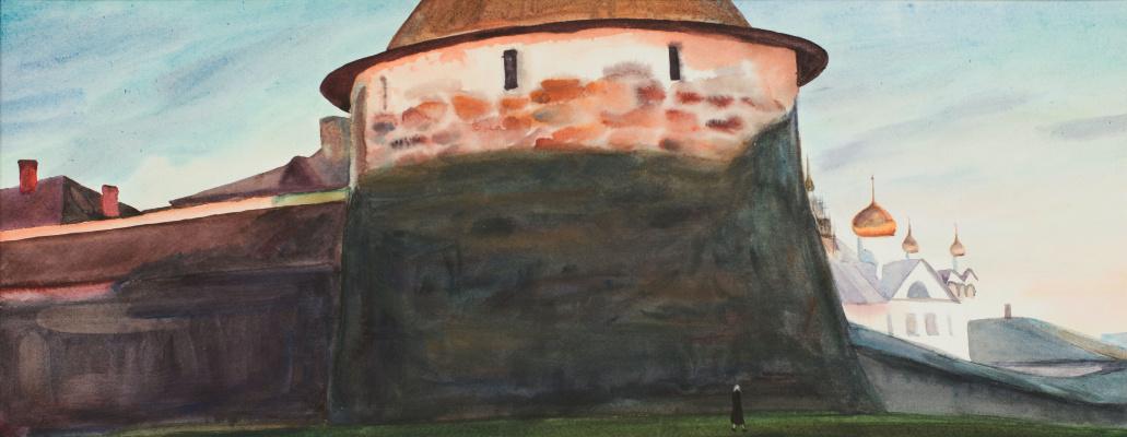 Виктор Михайлович Бородин. Nikolskaya Tower