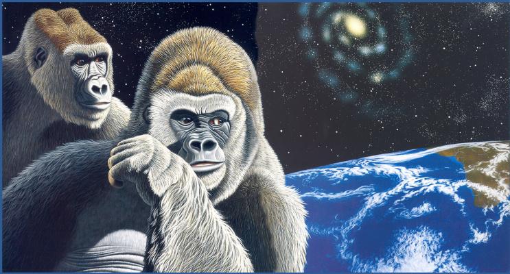 Уильям Шиммель. Орангутан