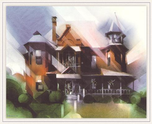 Дональд Столтенберг. Кирпичный дом