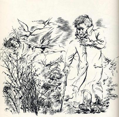 George Grosz. Birds