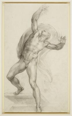 Michelangelo Buonarroti. Resurrected Christ