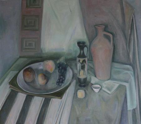 Давид Самвелович Манвелян. Натюрморт с вазой