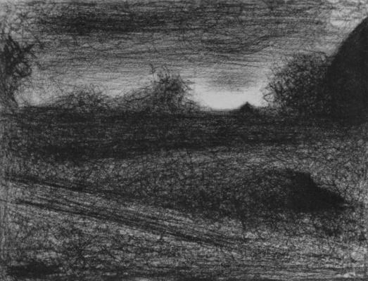 Georges Seurat. Haystacks