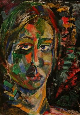 Daria Trublin. Self-portrait