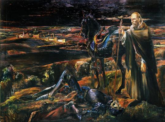 Андрей Богданов. Сражённый рыцарь