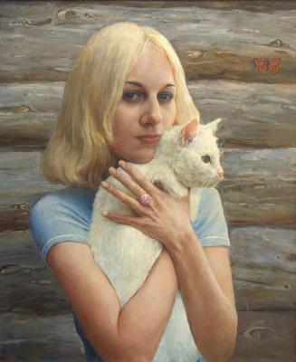 Oleg Borisovich Zakharov. Portrait Of Katie.