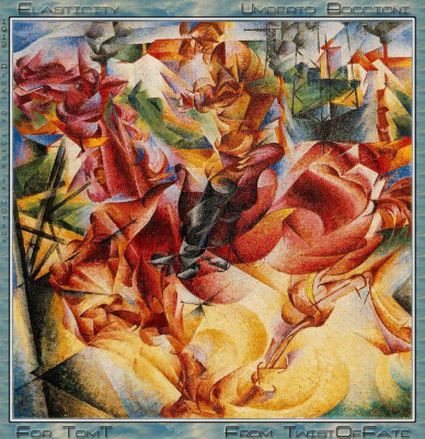 Umberto Boccioni. The irony