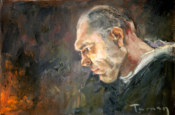 Tuman Art Gallery Tumana Zhumabayeva. Portrait of Valuev