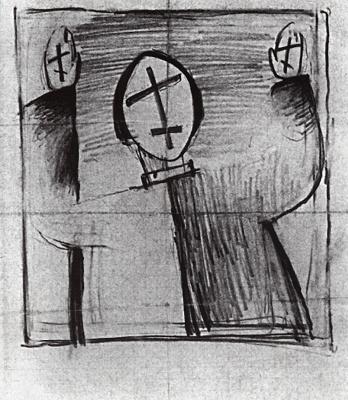 Kazimir Malevich. Mystic