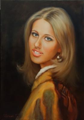 Георгий Васильевич Харченко. Стилизованный портрет