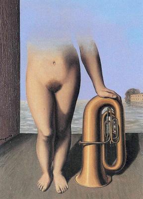 René Magritte. Flood