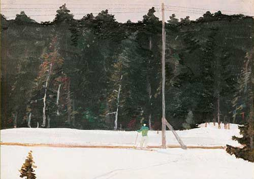George Grigorievich Nyssa. Skier