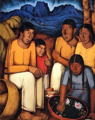 Альфредо Рамос Мартинес. Художник из города Уруапан