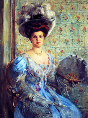 Lovis Corinto. Portrait of Countess Eleonora von Wilke
