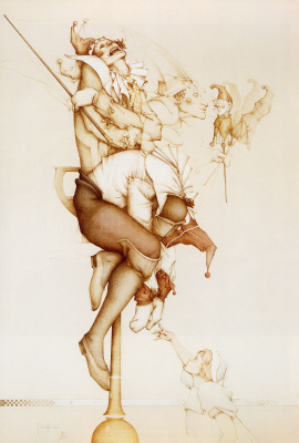 Michael Parkes. Plot 13