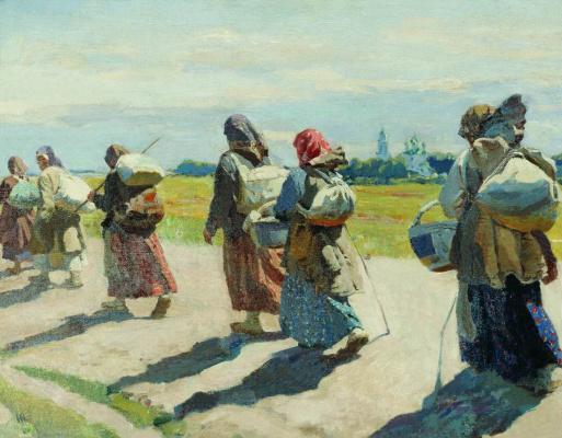 Sergey Arsenievich Vinogradov. To the monk