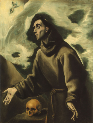 Domenico Theotokopoulos (El Greco). Saint Francis Receiving The Stigmata