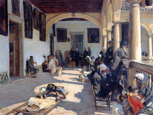 Джон Сингер Сарджент. Больница в Гранаде