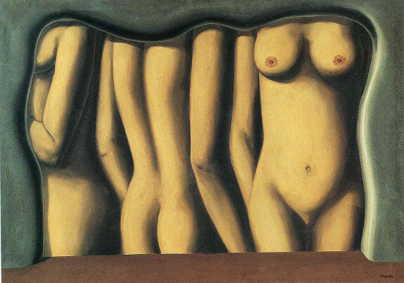 René Magritte. The adulation of space