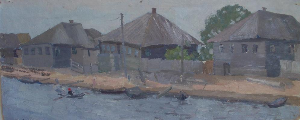 Nina Vasilievna Sedova. High water