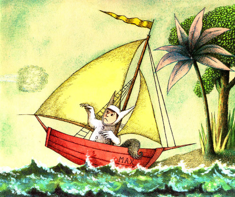 Морис Сендак. Корабль на волнах