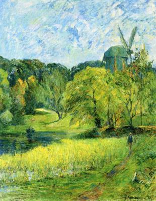 Paul Gauguin. Mill Queen