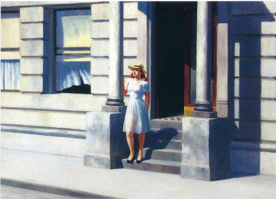 Edward Hopper. Summer
