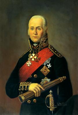 Peter Bazhanov. Admiral Fyodor Fyodorovich Ushakov