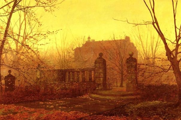 John Atkinson Grimshaw. Autumn morning