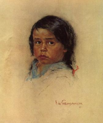 Николас де Гранмезон. Индейский портрет 54