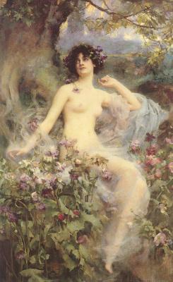 Генриетта Рей. Грация в саду