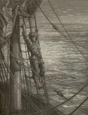Paul Gustave Dore. The rime of the ancient Mariner. Plot 25
