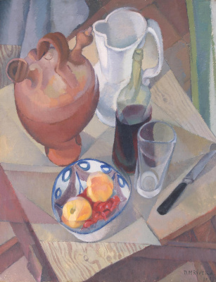 Диего Мария Ривера. Натюрморт