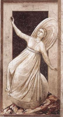 Giotto di Bondone. Inconstancy. Seven Vices