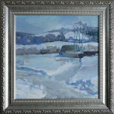 Tanika Yezhova. Sunny day. Winter