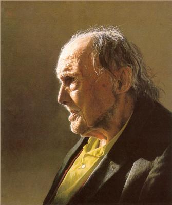 Марк Вебер. Профиль пожилого мужчины