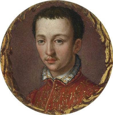 Alessandro Allori. Portrait of Francesco de Medici (1541-1587).