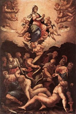 Джорджо Вазари. Аллегория непорочного зачатия