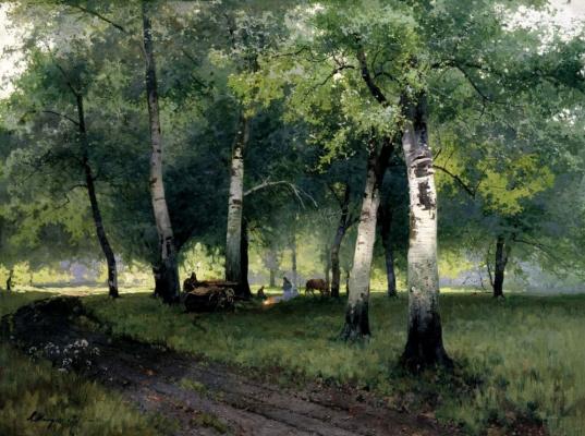 Андрей Николаевич Шильдер. Березовый лес