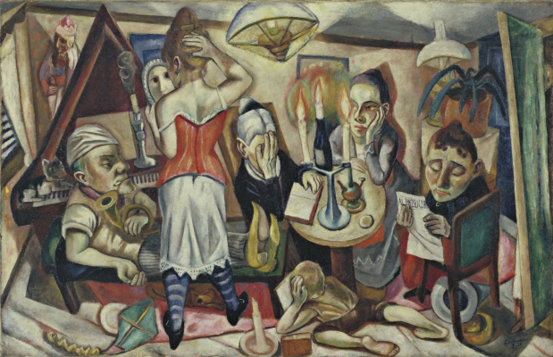 Max Beckmann. Family picture