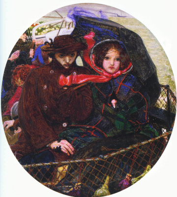 Ford Madox Brown. The last of England (oil)