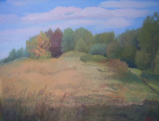 Rubtsova Nikolaevna Olga. Autumn spell