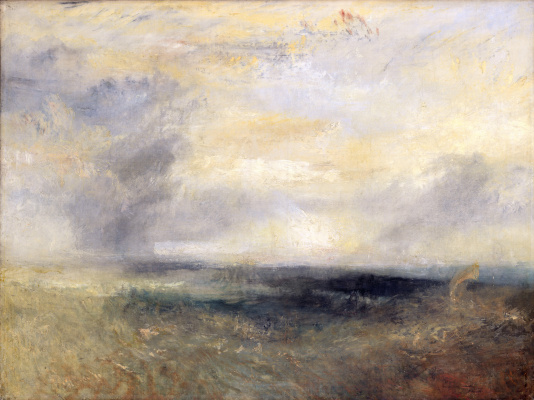 Joseph Mallord William Turner. View of Margate from the sea