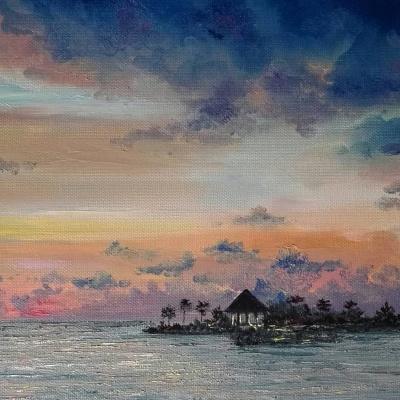Алина Евгеньевна Шварёва (Галкина). The Maldivian evening