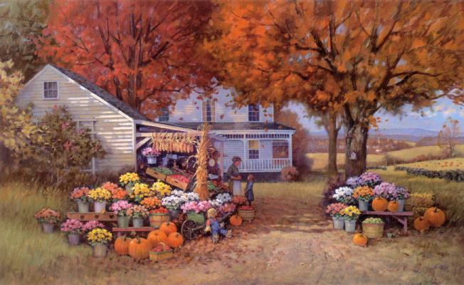 Пол Ландри. Осень