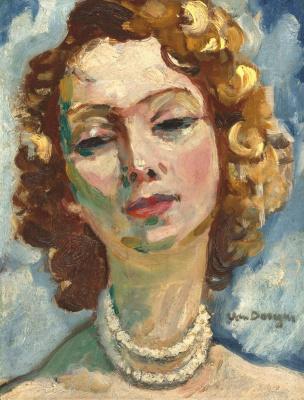 Kees Van Dongen. Female portrait