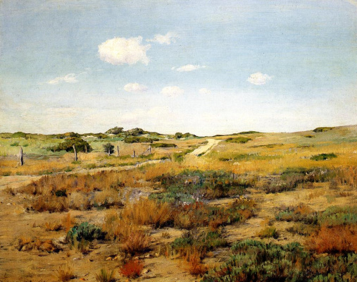 William Merritt Chase. The Hills The Hills Shinnecock