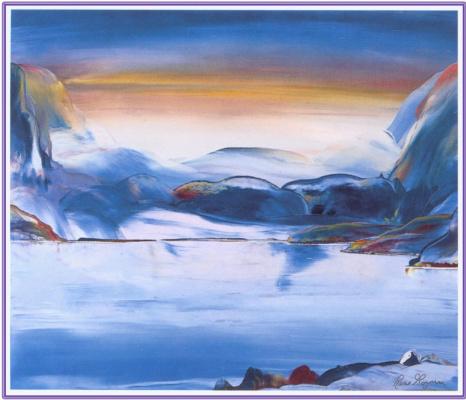 Рене Ганьон. Закат