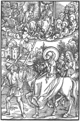 "Albrecht Durer. Illustration to ""the Revelation Brigid"" II"