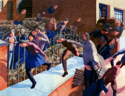Stanley Spencer. The escape